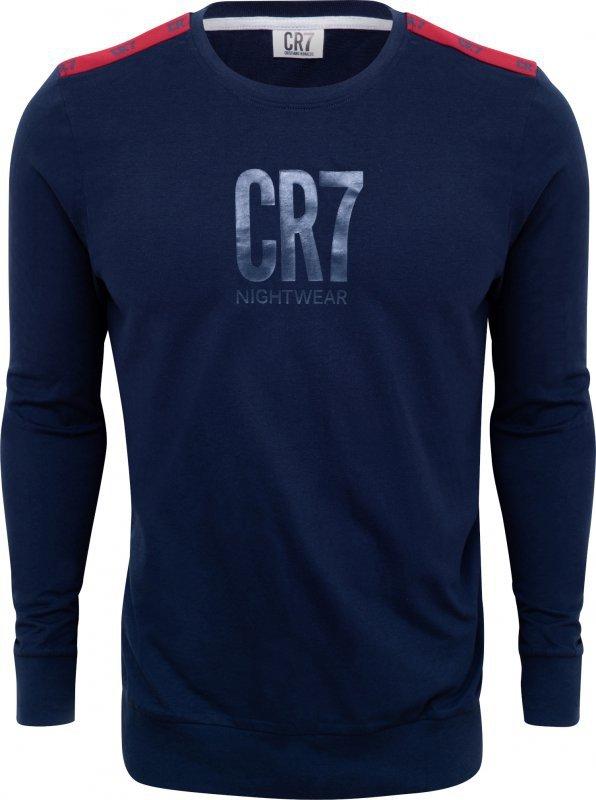 Cristiano Ronaldo  CR7 8770-42-4907 granatowa piżama męska