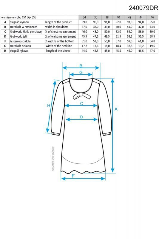 Ennywear 240079 sukienka