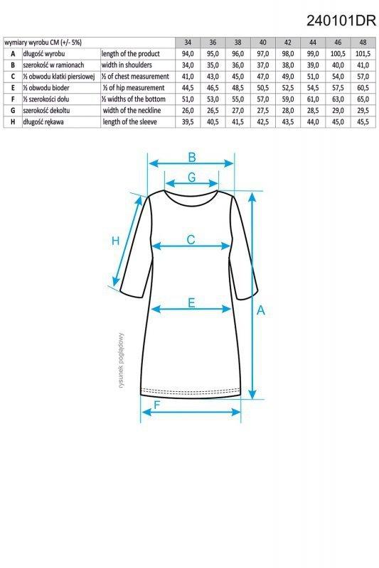 Ennywear 240101 sukienka