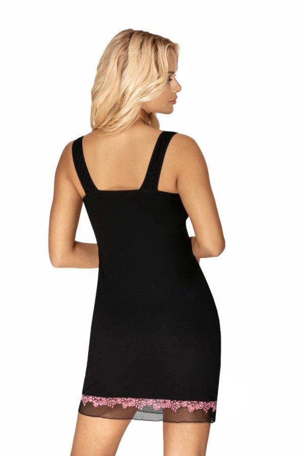 Donna Clara czarna Koszula nocna