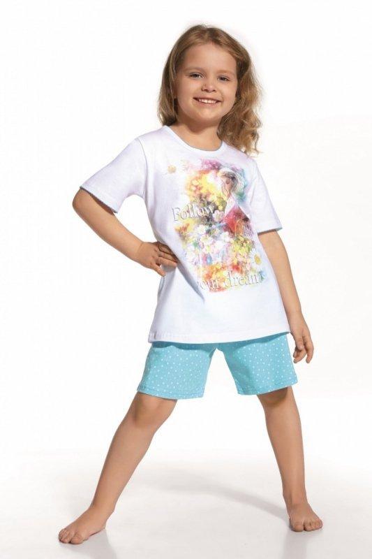 Cornette 787/31 Follow your dreams biały piżama dziewczęca