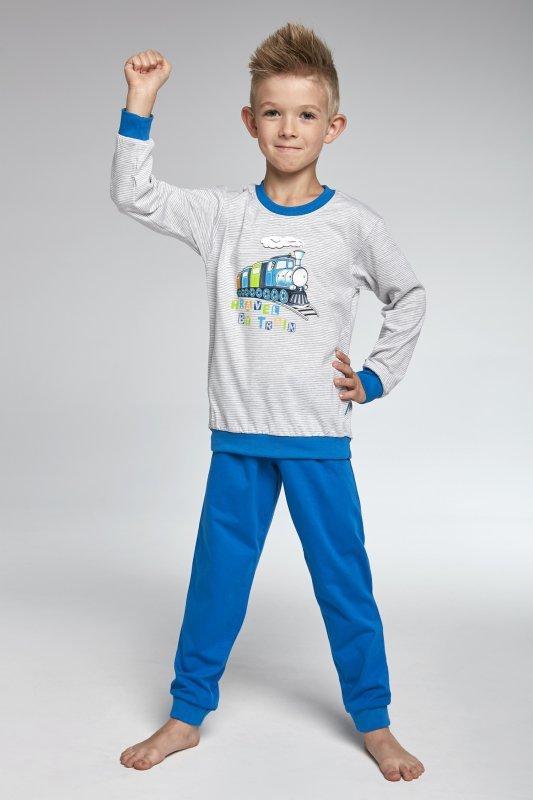 Cornette 593/74 Trrain melanż piżama chłopięca
