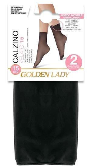 Golden Lady 67K Velato 15 den A'2 2-pack skarpetki