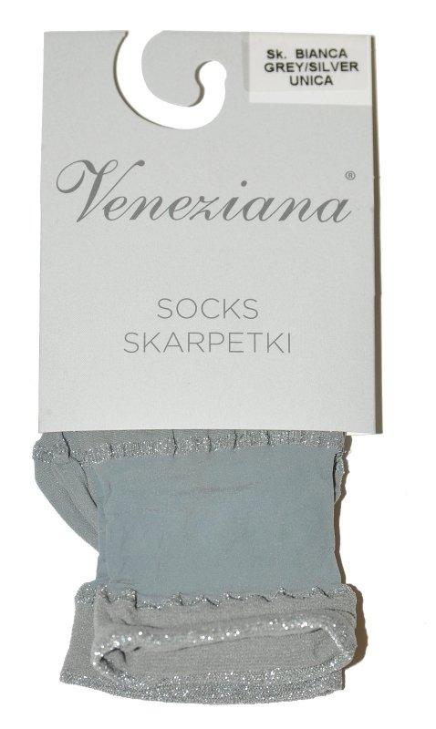 Veneziana Bianca skarpetki