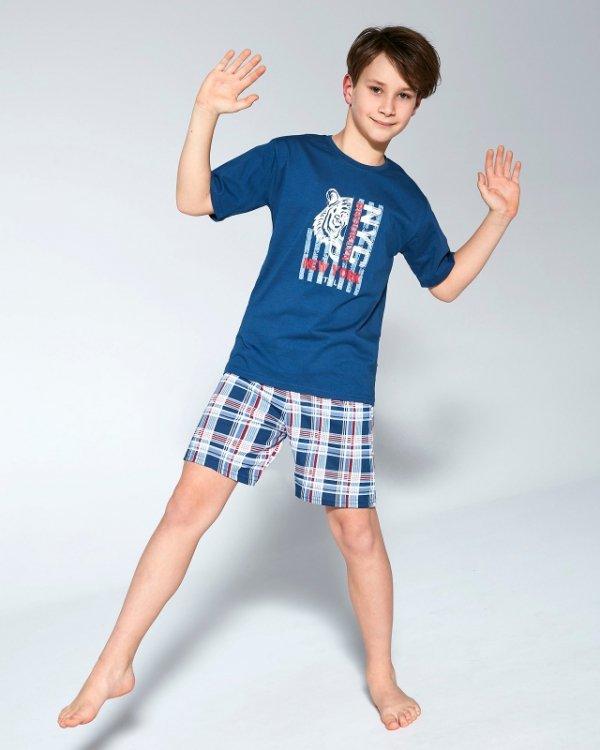 Cornette Young Boy 790/93 Tiger 134/164 piżama chłopięca