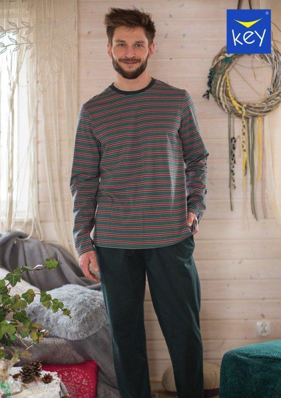 Key MNS 380 B21 piżama męska plus size