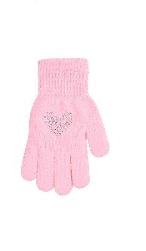 Rak R-176 Z Sercem rękawiczki dziecięce