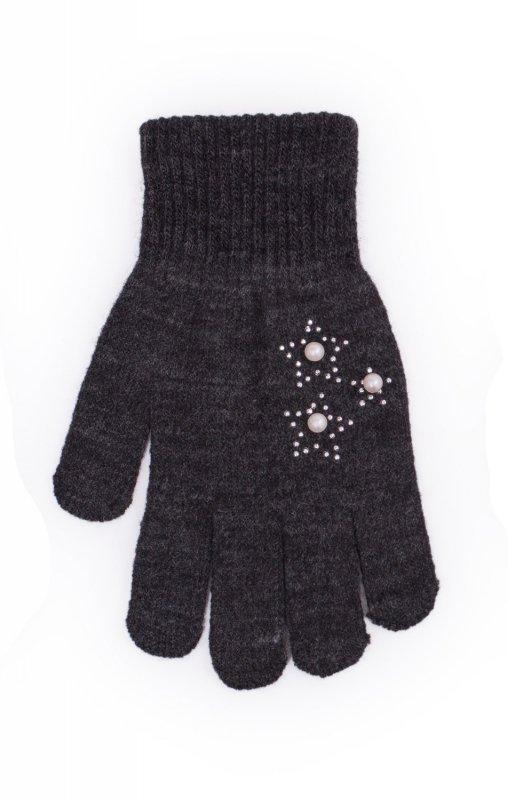 Rak R-177 Z Perełkami rękawiczki dziecięce