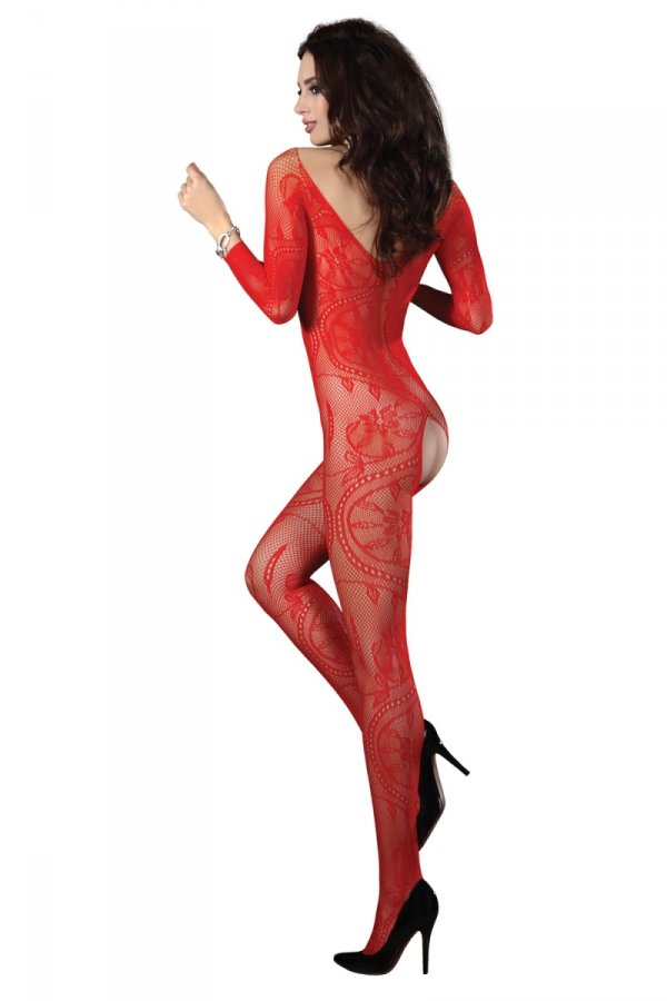 Livia Corsetti Bodystocking Zita red