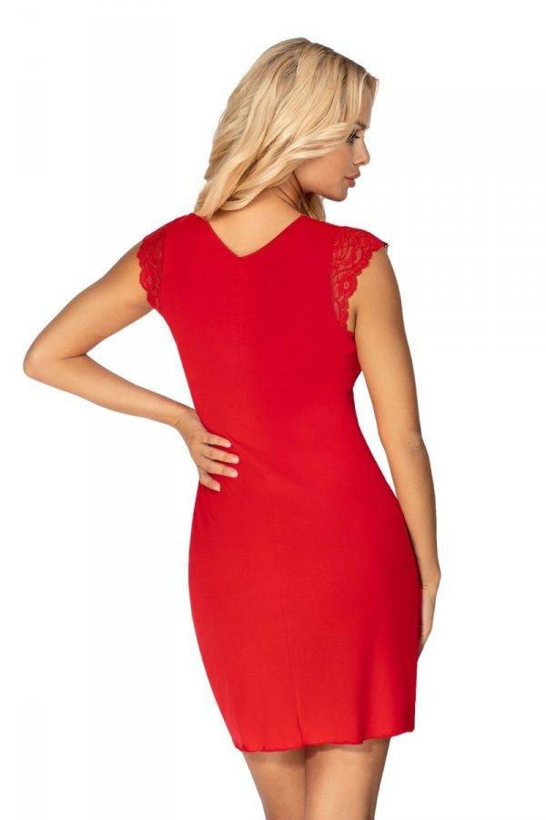 Donna Brenda czerwona Koszula nocna