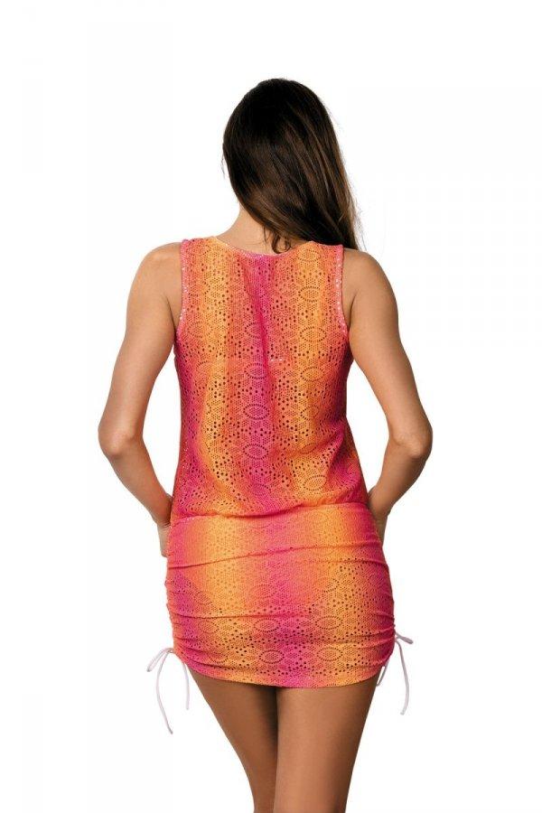 Sukienka plażowa Marko Elissa M-367 Petunia