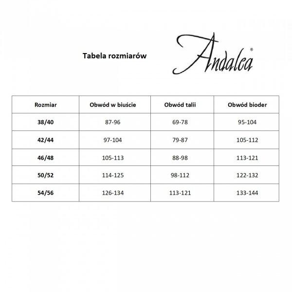 Andalea E/2026 Pas do pończoch