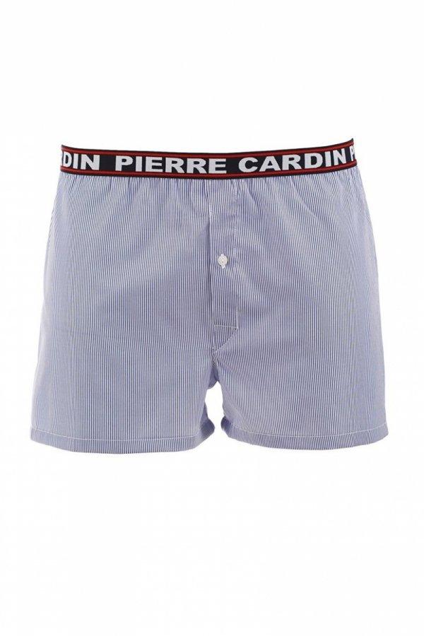 Pierre Cardin P3 granatowe paski Szorty męskie