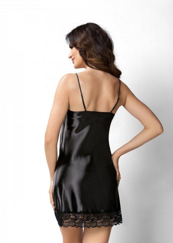 Donna Karen czarna Koszula nocna