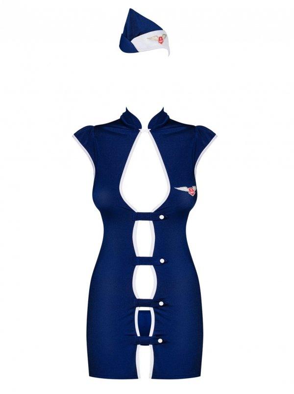 Obsessive Stewardess Kostium 3-częściowy