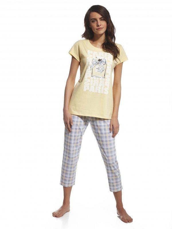 5a80be57e721c5 Cornette Parfum 665 99 Trzyczęściowa piżama damska - Piżamy damskie ...