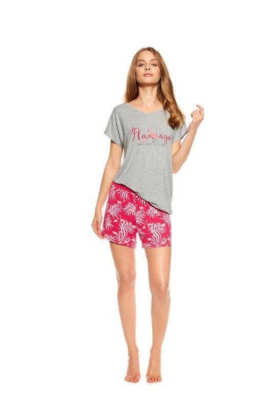 cb6628795f92c4 Henderson Ladies Trophy 36789-90X Szaro-różowa piżama damska ...