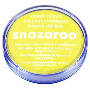 Snazaroo - farbka do malowania twarzy - ŻÓŁTY