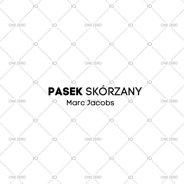 pasek skórzany Marc Jacobs • ONE ZERO • Modne zegarki i biżuteria • Autoryzowany sklep