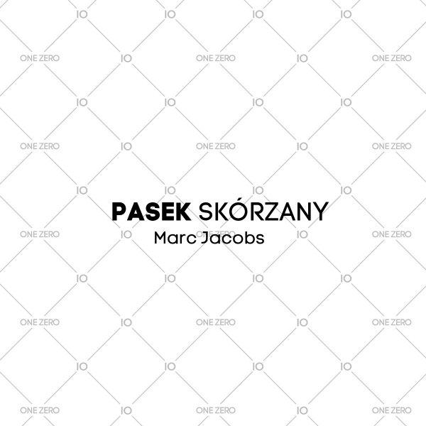 pasek skórzany Marc Jacobs • ONE ZERO • Modne zegarki i biżuteria • Autoryzowany sklep