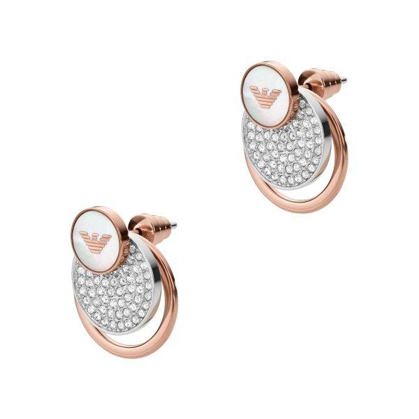 kolczyki Emporio Armani EGS2364040 • ONE ZERO • Modne zegarki i biżuteria • Autoryzowany sklep