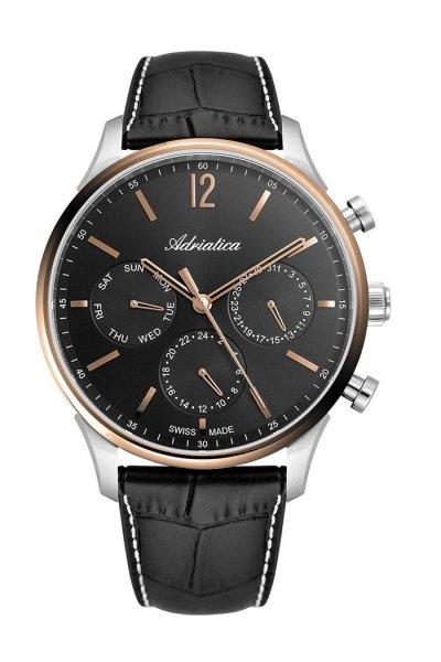 zegarek Adriatica A8271.R254QF • ONE ZERO • Modne zegarki i biżuteria • Autoryzowany sklep