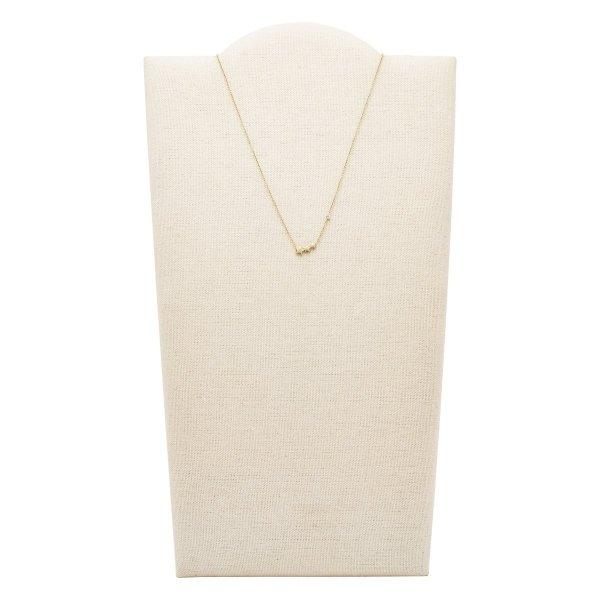 naszyjnik Fossil JF03161710 • ONE ZERO • Modne zegarki i biżuteria • Autoryzowany sklep