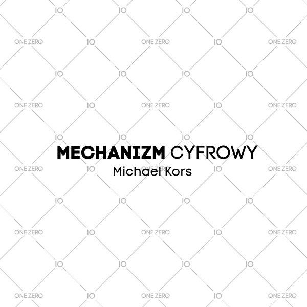 mechanizm cyfrowy Michael Kors • ONE ZERO • Modne zegarki i biżuteria • Autoryzowany sklep