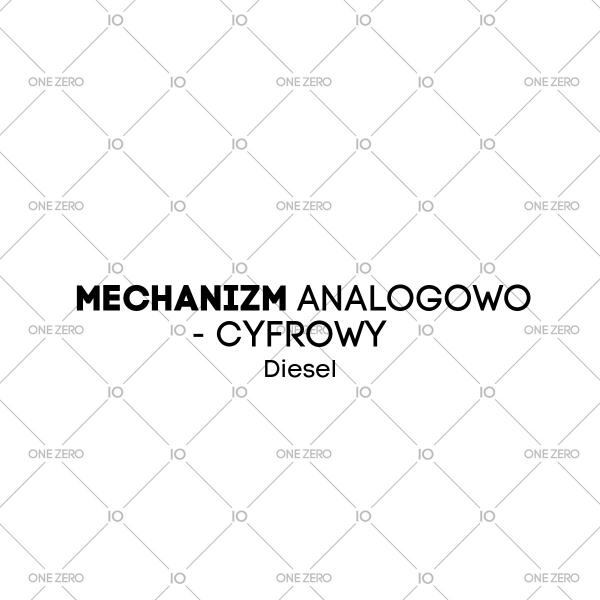 mechanizm analogowo - cyfrowy Diesel • ONE ZERO • Modne zegarki i biżuteria • Autoryzowany sklep