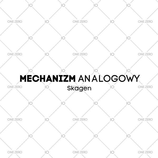 mechanizm analogowy Skagen • ONE ZERO • Modne zegarki i biżuteria • Autoryzowany sklep