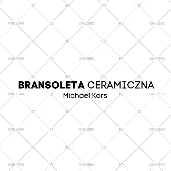 bransoleta ceramiczna Michael Kors • ONE ZERO • Modne zegarki i biżuteria • Autoryzowany sklep