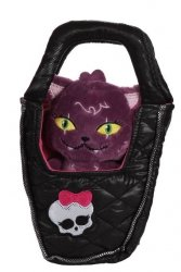 Monster High Plush cat in Purse