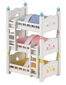 Sylvanian Families Potrójne łóżko piętrowe