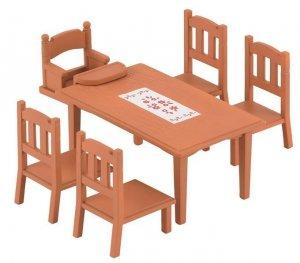 Sylvanian Families Zestaw do jadalni - stół i krzesła