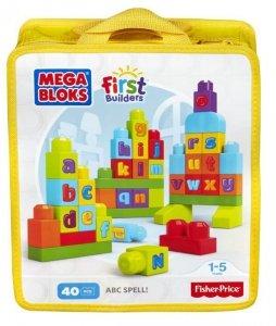 Mega Bloks First Builders Ćwiczymy ABC!