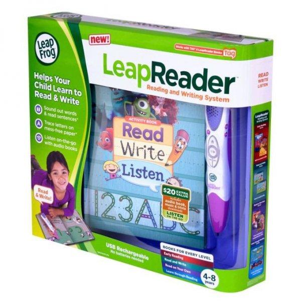 LeapFrog LeapReader Czytający długopis różowy