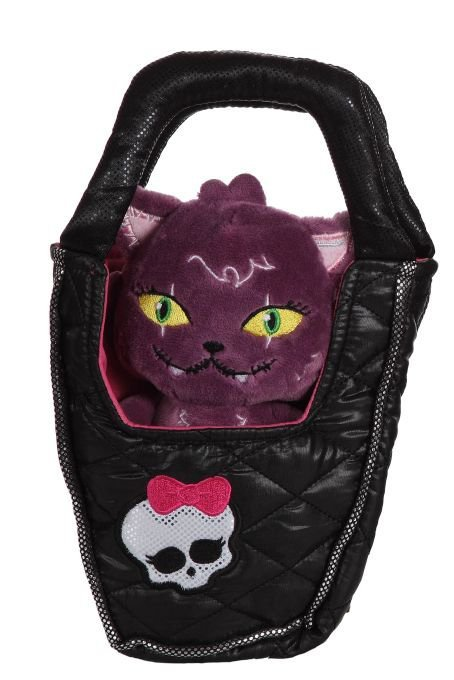 Monster High Plush cat in Purse
