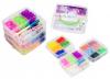 Gumki do bransoletek z atestem Cool Looming zestaw w kuferku 7200 szt. TM Toys + GRATIS poradnik z pomysłami na ozdoby