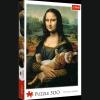 Puzzle Mona Lisa i Kot Mruczek 500 el. Trefl 37294