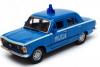 Autko Metalowe Fiat 125p Milicja Niebieskie 11 cm