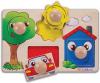 Układanka Drewniana Kolorowe Puzzle 4 el. Eichhorn 5460