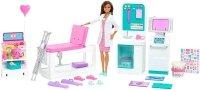 Lalka Barbie U lekarza Zakładamy Gips Mattel GTN61
