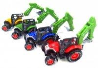 Traktorek Metalowy 7 cm