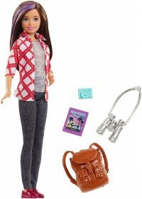 Lalka Barbie Skipper w Podróży z filmu Dreamhouse Adventures Mattel FWV17