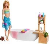 Lalka Barbie Relaks w kąpieli Mattel GJN32