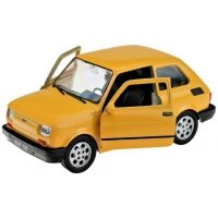 Autko Metalowe Fiat 126p Maluch 11 cm Kolory