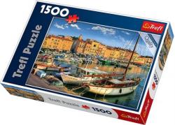 Puzzle Stary port w Saint Tropez 1500 el. Trefl 26130