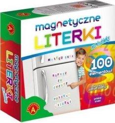 Literki magnetyczne dla dzieci na lodówkę Alexander 0811
