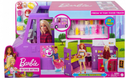 Barbie Foodtruck Zestaw do Zabawy BRB Mattel GMW07