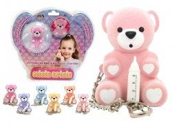Misie Episie interaktywne breloczki ze świecącym noskiem zabawka opiekuj się Epee 02614